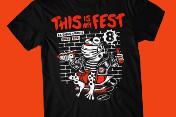 T-shirt de soutien